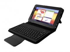 "کیف چرمی کیبورد دار گالکسی تب Samsung Galaxy Tab 2 7""P3100"