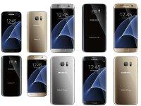 رنگ بندی دو گوشی Galaxy S7 و Galaxy S7 Edge مشخص شد