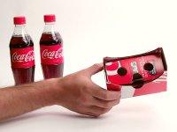 کوکاکولا مشتریانش را در تبدیل کارتن های محصولات این کشور به هدست واقعیت مجازی تشویق می کند!