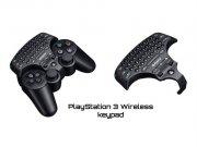 کیبورد سونی PS3 Wireless Keypad