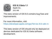 لیست دستگاه های سازگار با iOS 9.3 منتشر شد