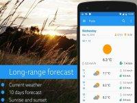 Klara برنامه ای که اطلاعات هواشناسی را به ساده ترین وجه ممکن ارائه می دهد