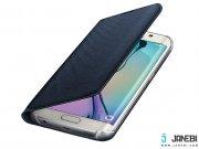 کیف اصلی Fabric Flip Wallet Samsung Galaxy S6 edge