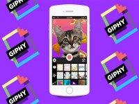 Giphy صفحه کلیدی که امکان فرستادن فایل های GIF را در هر جا فراهم می کند
