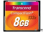 کارت حافظه Transcend 8GB Premium 133x Compact Flash Card