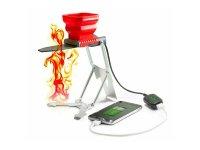 FlameStower شارژری که با حرارت خوراک پزی، گوشی شما را شارژ می کند!