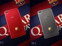 Oppo و عرضه گوشی هوشمند با آرم تیم فوتبال بارسلونا