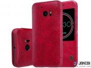 کیف چرمی نیلکین اچ تی سی Nillkin Qin Leather Case HTC 10 Lifestyle