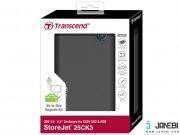 باکس تبدیل هارد داخلی به اکسترنال Transcend StoreJet 25CK3 SSD/HDD