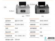 اسپیکر بلوتوث چندکاره RB H3C Remote Control Clock Speaker مارک Remax