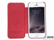 کیف چرمی نیلکین آیفون  Nillkin Qin Leather Case Apple iPhone 5/5S/SE