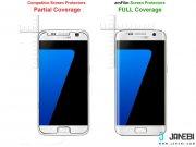 محافظ صفحه نمایش فول شیشه ای Samsung Galaxy S7 Full Cover