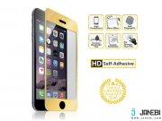 محافظ صفحه نمایش شیشه ای طلایی نزتک Naztech Gold Tempered Glass Screen Protector for iPhone 6/6s