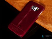 جانبی قاب چرمی پییر کاردین Pierre Cardin Genuine Leather For Samsung Galaxy S6 edge