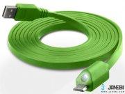 کابل شارژ و انتقال داده میکرو یو اس بی نزتک Naztech LED Micro USB Charge & Sync Cable 1.8M