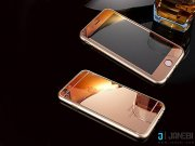 خرید اینترنتی محافظ صفحه نمایش شیشه ای پشت و رو طلایی Apple iphone 5/5S