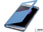 آبی کیف اصلی سامسونگ Samsung S View Standing Cover For Samsung Galaxy Note 7