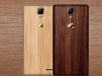 Canvas 5 Lite، گوشی هوشمندی با بدنه چوبی و طراحی زیبا