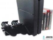 استند فن دار و پایه شارژ داب برای پی اس 4 DOBE PS4