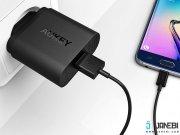 فروشگاه آنلاین شارژر دیواری با قابلیت شارژ سریع آکی Aukey PA-U28 Quick Charge 2.0 Wall Charger