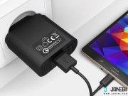 فروش اینترنتی شارژر دیواری با قابلیت شارژ سریع آکی Aukey PA-T9 18W USB Wall Charger with Quick Charge 3.0