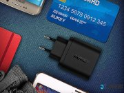 قیمت شارژر دیواری با قابلیت شارژ سریع آکی Aukey PA-T9 18W USB Wall Charger with Quick Charge 3.0