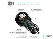 شارژر فندکی دو پورت با قابلیت شارژ سریع آکی Aukey CC-Y5 Dual Port Car Charge with Quick Charge 2.0