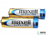 باتری قلمی مکسل پک 2 تایی Maxell Alkaline AA Battery Blister Pack Of 2