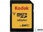 کارت حافظه کداک Emtec Kodak UHS-I U1 Class 10 85MBps 580X microSDHC 128GB