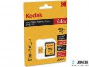 کارت حافظه کداک Emtec Kodak UHS-I U1 Class 10 85MBps 580X microSDHC 64GB