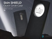 کیف اصلی چرمی ال جی Voia Skin Shield Quick Circle Flip Cover LG G4