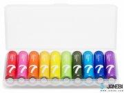 باتری نیم قلمی رنگین کمانی شیائومی Xiaomi Rainbow AAA Battery Pack Of 10