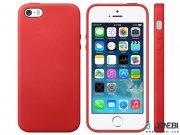قاب  اصلی چرمی آیفون Apple iPhone 5/5S/SE Orginal Leather Case
