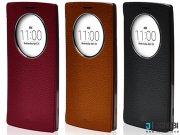 کیف اصلی چرمی ال جی Voia Skin Shield Quick Circle Case LG G4 Stylus