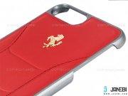 قاب محافظ چرمی آیفون CG Mobile Ferrari Leather Case iPhone 7 Plus/8 Plus