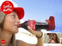 کوکاکولا و عرضه بطری نوشابه ای که سلفی می گیرد!
