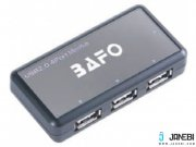 هاب یو اس بی 4 پورت بافو BAFO USB 2.0 HUB W/Power Adapter BF-H302