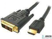کابل اچ دی ام آی بافو BAFO HDMI Round Cable DVI Single Link