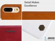 کیف چرمی نیلکین آیفون Nillkin Qin Leather Case iPhone 7 Plus/8 Plus
