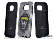 قاب محافظ گوشی سامسونگ طرح شیر Mobile Case Samsung Galaxy S6