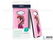 قاب محافظ گوشی سامسونگ طرح دختر صورتی Mobile Case Samsung Galaxy J5 2016
