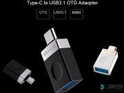 مبدل تایپ سی به یو اس بی یوسامز Usams Type-C To USB 3.1 OTG Adapter