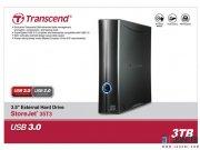 هارد اکسترنال ترنسند 3 ترابایت Transcend StoreJet 35t3 External Hard Drive 3TB