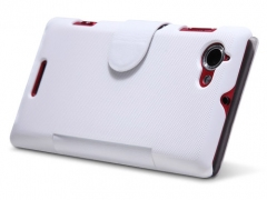 کیف چرمی Sony Xperia L مارک Nillkin