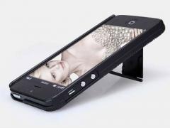 قاب محافظ و استند نیلکین آیفون 5/Nillkin Frosted Shield Case Apple iphone 5S