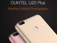 Oukitel U20 یک گوشی هوشمند ارزان، با دوربین اصلی دوبل!