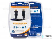 کابل اچ دی ام آی بافو BAFO HDMI Round Cable With Tinplate 1m