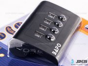 هاب یو اس بی 4 پورت بافو BAFO USB 2.0 HUB W/Power Adapter BF-H303