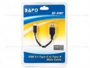 کابل تبدیل یو اس بی به تایپ سی BAFO USB 3.0 A/M to Type-C Cable BF-H387 1.5m