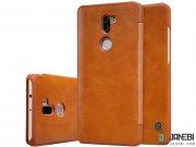 سری قهوه ای کیف چرمی شیائومی XIAOMI 5S Plus Qin leather case